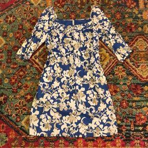 Old Navy square neck floral dress M